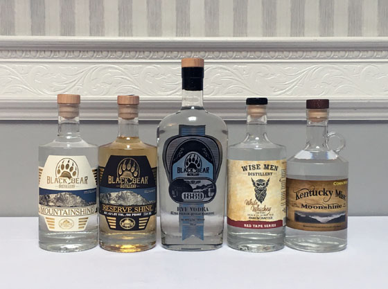 The Fifty Best Moonshine Whiskey Tasting of 2021