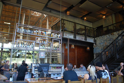 Stone Brewing tasting room