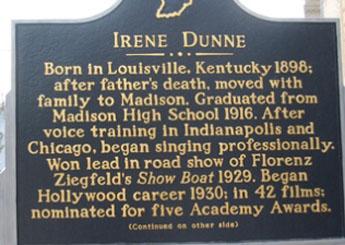 Irene Dunne sign
