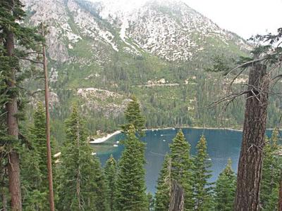 View of Lake Tahoe from Vikingsholm