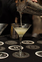 Black Button Citrus Gimlet