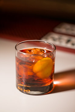Finger-Stirred Negroni
