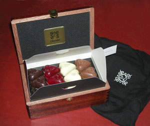 ZChocolat Valentine's Day Ruby Box