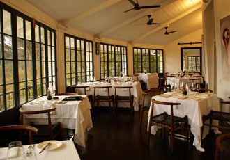 The Roundhouse dining room