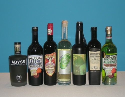 The Fifty Best Absinthe Tasting of 2013