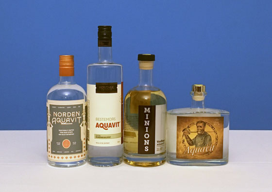 The Fifty Best Aquavit Tasting
