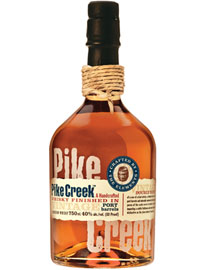 Pike Creek Port Barrel Finish Canadian Whisky