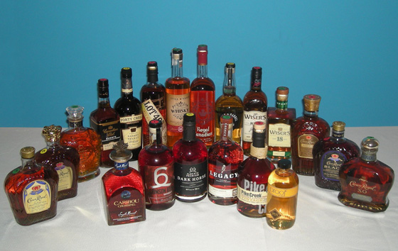 The Fifty Best Canadian Whisky Tasting of 2015