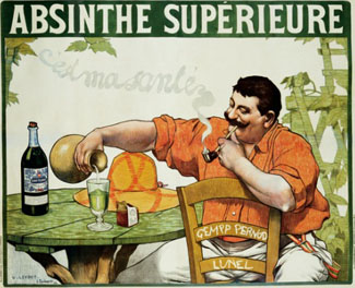 Absinthe Superieure Vintage Poster