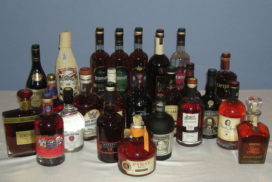 The Fifty Best Aged Rum Tasting 2013