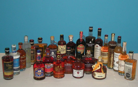 The Fifty Best Aged Rum & Gold Rum Tastings 2014