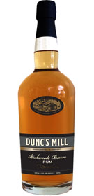 Dunc's Mill Backwoods Reserve Rum 125 proof