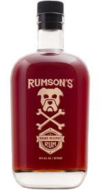 Rumson's Grand Reserve Rum