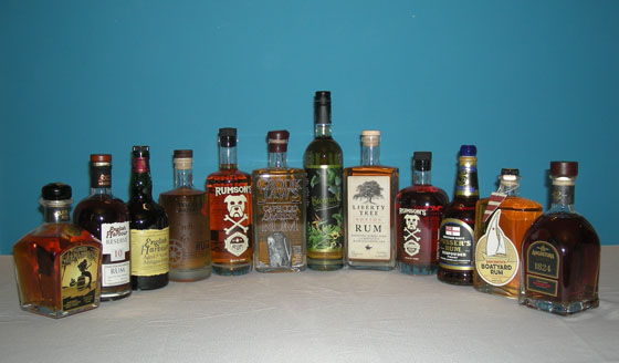 The Fifty Best Aged Rum Tasting 2017