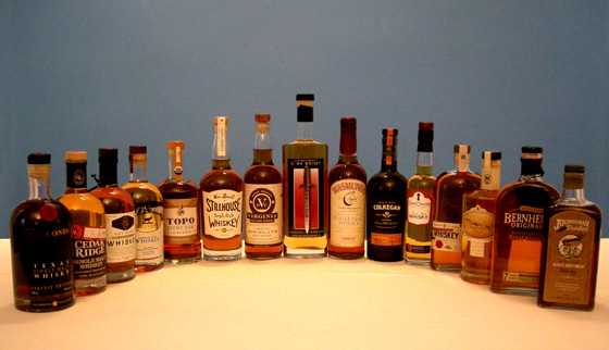 The Fifty Best American Single Malt Whiskey Tasting of 2016