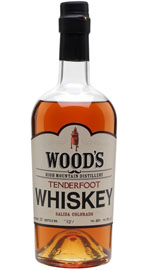 Wood's Tenderfoot American Malt Whiskey