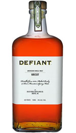 Defiant American Single Malt Whiskey