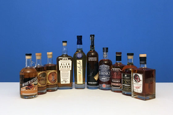 The Fifty Best American Single Malt Whiskey Tasting of 2020