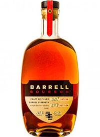 Barrell Barrel Strength Craft Distilled Bourbon