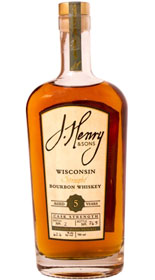 J. Henry & Sons 5 yr old Cask Strength Patton Road Reserve Bourbon