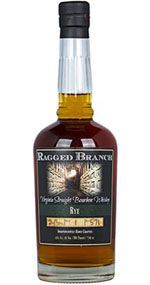 Ragged Branch Virginia Straight Rye Bourbon Whiskey