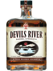 Devils River Texas Bourbon Whiskey Barrel Strength