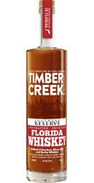 Timber Creek Southern Reserve Florida Whiskey 100 proof