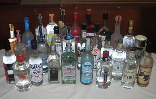 The Great Domestic Vodka Tasting of 2011