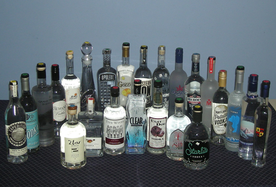 The Fifty Best Domestic Vodka Tasting 2013
