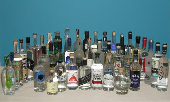 The Fifty Best Domestic Vodka Tasting 2015