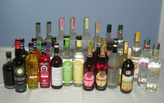 The Great Flavored Vodka Tasting of 2012