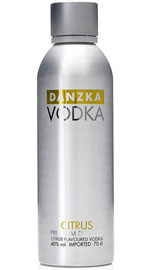 Danzka Citrus Flavored Vodka
