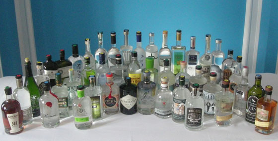 The Fifty Best Gin Tasting 2014