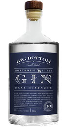 Big Bottom Navy Strength Gin