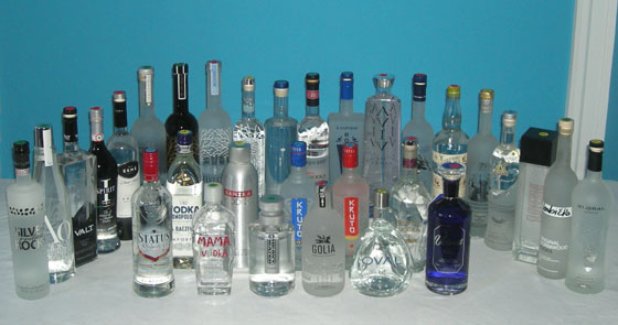 The Great Imported Vodka Tasting of 2014