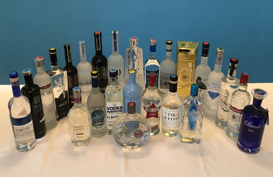 The Fifty Best Imported Vodka Tasting - 2016