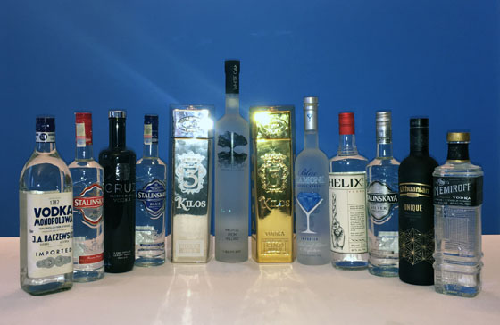 The Fifty Best Imported Vodka Tasting 2019