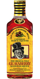 Old Man Guavaberry Original Wild Guavaberry Island Folk Liqueur