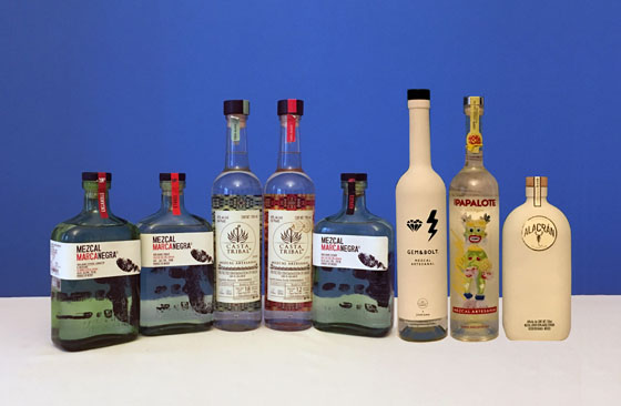 The Fifty Best Mezcal Tasting 2019