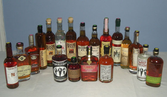 The Great Rye Whiskey Tasting of 2012