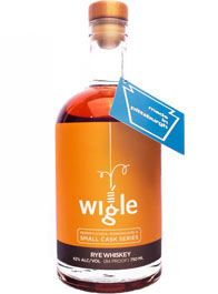 Wigle Small Cask Series Bottle Proof Organic Rye
