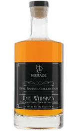 HDC Dual Barrel Collection Rye Whiskey