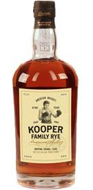 Kooper Family 100% Rye Whiskey