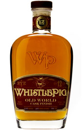 WhistlePig 12 Year Old World Straight Rye Whiskey