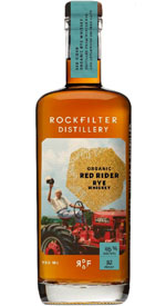 RockFilter Organic Red Rider Rye Whiskey