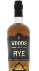 Wood's Alpine Rye Whiskey
