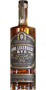 Iowa Legendary Rye Whiskey