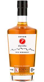 Seven Devils Idaho Rye Whiskey