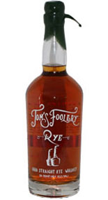 Tom's Foolery Ohio Straight Rye Whiskey