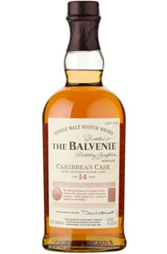 The Balvenie Caribbean Cask 14 Single Malt Scotch